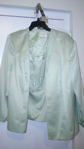 Beautiful Mint green mother of the bride/groom dress London Ontario image 1