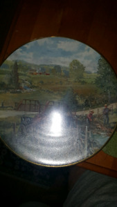 Peter Etril Snyder Collector plates