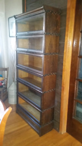 Antique Barristers Bookcase