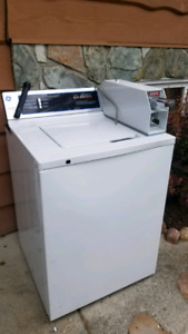 Coin Op - GE commercial washing machine