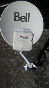 Bell Satellite Dish For Sale