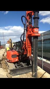 Residential / Commercial Pile drilling (track machines) Edmonton Edmonton Area image 3