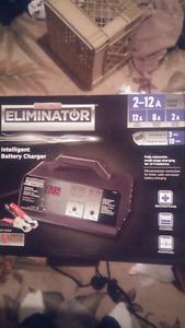 Motomaster Eliminator 2-12 Amp Intelligent battery charger