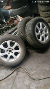 17 inch Audi rims and tires WINTER