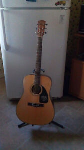 Fender acoustic model CD60 NAT