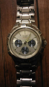 Mens Guess Chronograph Watch