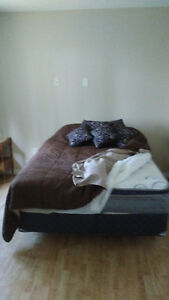 new beds, new rocker recliners new night stand,table + 4 chairs