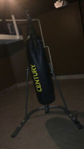 CENTURY PUNCHING BAG 100LB GOOD CONDITION ***WITH STAND***