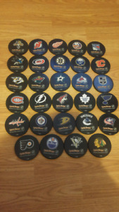 NHL HOCKEY COASTERS (COMPLETE SET) ALL TEAMS INCLUDED-