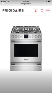 Frigidaire Professional Gas convection oven