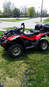 2012 can am 2 up