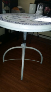 Round bistro table or patio