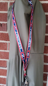 "MONTREAL CANADIENS OFFICIAL NHL LANYARD ""make us an offer"""
