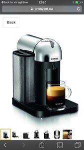 Nespresso vertuoline in excellent condition