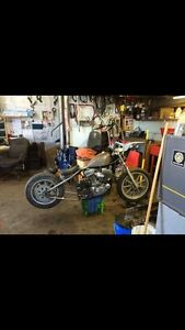 1996 Harley Davidson Sportster chopper project