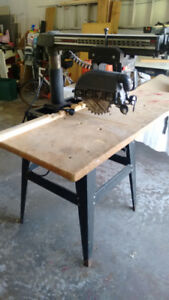 Radial Arm Saw  Sears Craftsman 10""