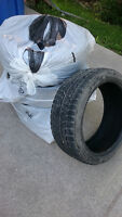 Blizzak 19 Inch 245/40 and 225/40 winter tires. tires only