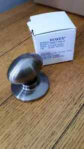 Nickel Antique Coloured Door Handle