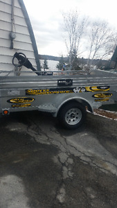 New Maxi- Roule Utility trailer