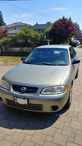 2003 Nissan Sentra XE - Excellent Condition Low Mileage