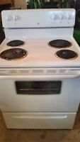 White Westinghouse Electric Stove