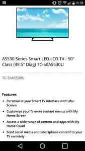 "Télé 50"" Panasonic, HGTV 1080p, smart TV 550$"