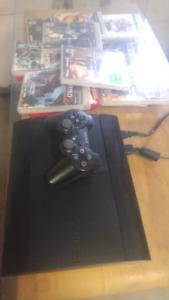 PS3 avec 12 jeux
