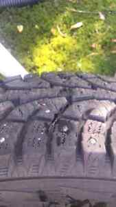 2 Winter Truck Tires. Hardly used.