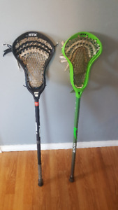 STX/ Nike Lacrosse Sticks
