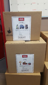 Boxes Starting at 99 cents!  Packing & moving supplies here!