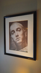 Framed Eminem photo