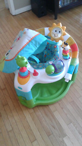 Baby chair with mat