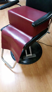 Child Booster Leather Seat for Barber & Hairstylist