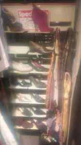 Retail Shoe Accessories Rack