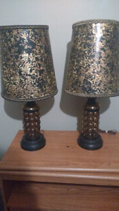 Matching old lamps