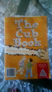 Boy Scouts Cub New  book n shirt and pants never worn