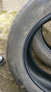 Two 235/60 R18 Tires