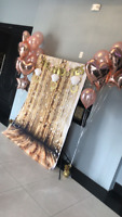 Party Backdrops - Bridal Shower/Baby Shower/Engagement/Birthdays