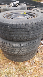 195x70r14 5x100 rims and tires