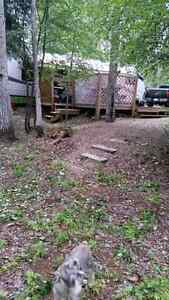 For sale leased lake lot at Sturgeon Lake Campground, Sturgeon L