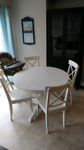 Ikea kitchen table and 4 chairs