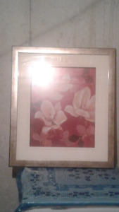 Picture frames flowers