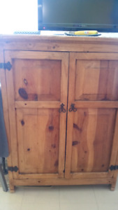 Mexican pine armoire /storage