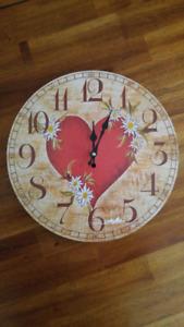Horloge murale à donner