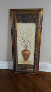 Canvas Painting and Frame