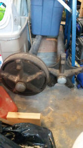2 - Mobile home axles