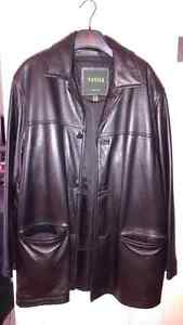 DANIER black leather jacket, ¾ length, for sale