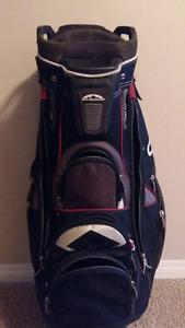 Sun mountain C130 cart golf bag.