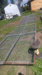 Chain Link Gates and Panels