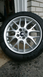 Winter tires and Wheels Mini Roadster